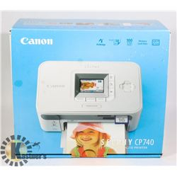 CANNON SELPHY CP740 COMPACT  PHOTO PRINTER