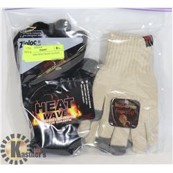 2PK LADIES HEAT WAVE GLOVES