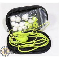 KLIPSCH IN-EAR HEADPHONES WITH CASE AND EXTRA