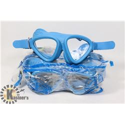 BUNDLE OF 4 MADE IN SPAIN GOGGLES