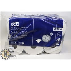 CASE OF TORK SMART ONE MINI BATH TISSUE ROLLS