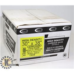 """CASE OF 30"""" X 38"""" HIGH DENSITY CLEAR FOOD GRADE"""