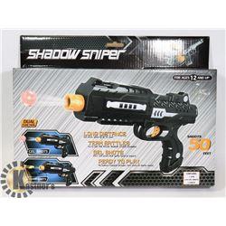 SHADOW SNIPER 200 GELSHOT +FOAM DARTS  INCLUDED