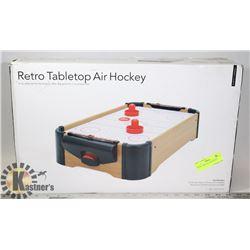 RETRO TABLETOP AIR HOCKEY