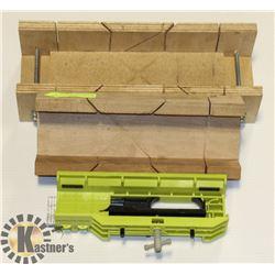 MITER BOX 3 ACCURATE CUTS, BEAVER TRADESMAN ANGLE