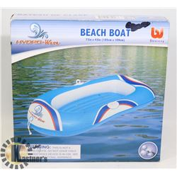 "BEACH BOAT NEW 73""X43"" (185CMX109CM)"