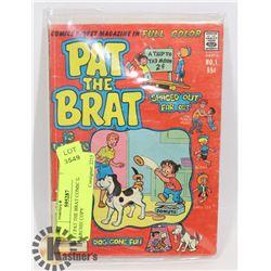 # 1 PAT THE BRAT COMIC DIGEST ARCHIE COPY