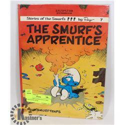 1979 SMURF'S APPRENTICE COMIC MAGAZINE BOOK