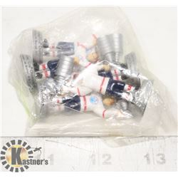 SET OF ALL 5 OILERS STANLEY CUP WINS FIGURES