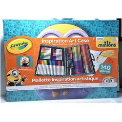 15)  FACTORY SEALED CRAYOLA ART CASE