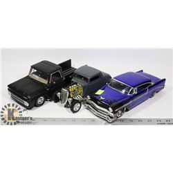 LOT OF 3 DIE CAST CARS