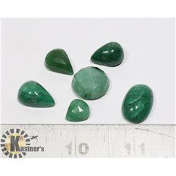 #172-GREEN EMERALD GEMSTONE 67.30ct