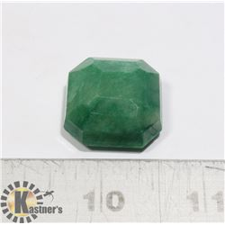 #216-GREEN EMERALD GEMSTONE 75.0ct