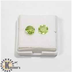 #20-GREEN PERIDOT GEMSTONE ROUND 2.0ct