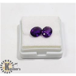 #80-PURPLE AMETHYST GEMSTONE OVAL 3.50ct