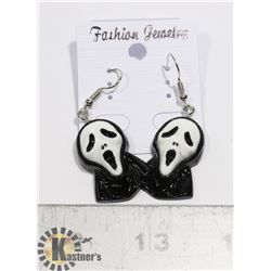 NEW SCREAM MOVIE MASK EARRINGS