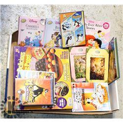 CAKEPOP BAKING SET,10 WALT DISNEY BOOKS ,2DVDS
