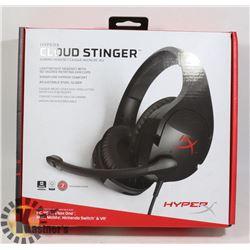 HYPERX CLOUD STINER GAMING HEADSET