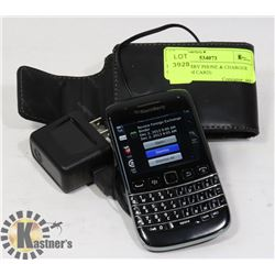 BLACKBERRY PHONE & CHARGER (NEEDS SIM CARD)