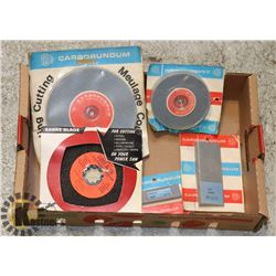 FLAT OF GRINDING/ CUTTING TYPE TOOLS