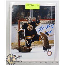 NHL BOSTON BRUINS GOALIE HOF 85 GERRY CHEEVERS