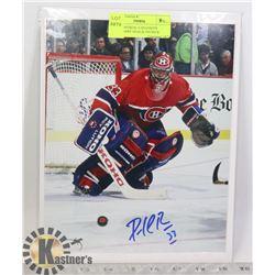 NHL MONTREAL CANADIENS LEGENDARY GOALIE PATRICK