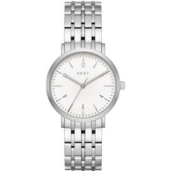 NEW DKNY 36MM SILVER DIAL STAINLESS STEEL MSRP$209