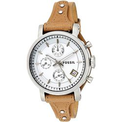 NEW FOSSIL TRIPLE CHRONO 38MM WHITE DIAL MSRP $199