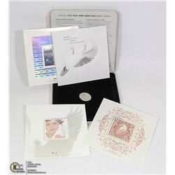 CANADA POST MILLENNIUM KEEPSAKE 3 SOUVENIR STAMPS