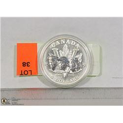 CANADA 1945-2005 $5 SILVER COIN