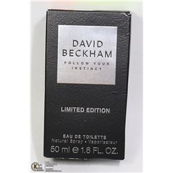 DAVID BECKHAM FOLLOW YOUR INSTINCT LTD EDITION