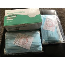 BOX OF 50 MULTIPLE FILTRATION PROTECTIVE MASKS