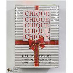 CHIQUE EAU DE PARFUME 3.3FL OZ, MADE IN FRANCE