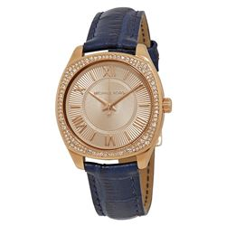 NEW MICHAEL KORS 32MM ROSE GOLD TONE MSRP $326