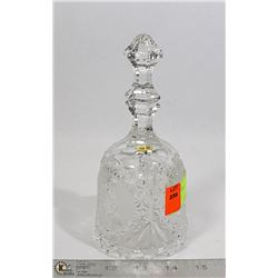 "8"" CRYSTAL BELL"
