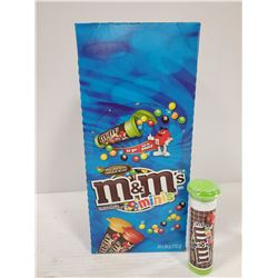 BOX OF 24, 30G CONTAINERS OF M&M MINIS