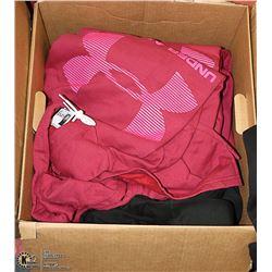 BOX OF NEW PRINTED HOODIES
