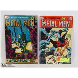 METAL MEN #38, 41 1960'S COLLECTORS COMIC