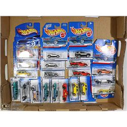 BOX OF 20 HOTWHEELS COLLECTIBLE CARS