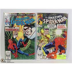 AMAZING SPIDERMAN #240, 246