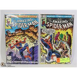 AMAZING SPIDERMAN #215, 218