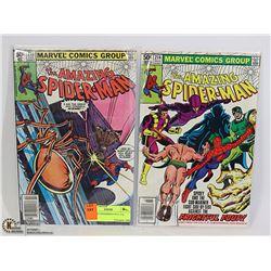 AMAZING SPIDERMAN #213, 214