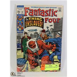 FANTASTIC FOUR #91, 50 YRS OLD COMIC