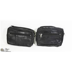 LOT OF 2 CROSS BODY CLUTCHES