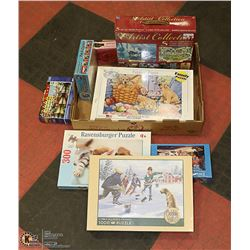 8 UNOPENED PUZZLES