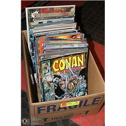 BOX OF COMICS - MISC TITLE COMIC BOOKS