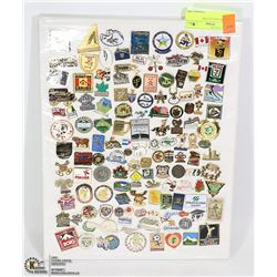 LAPEL PIN COLLECTION.