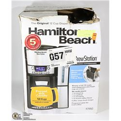 HAMILTON BEACH BREW STATION 12 CUP AND