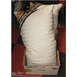 2 HOTEL GRAND FEATHER & DOWN PILLOWS SZ: KING