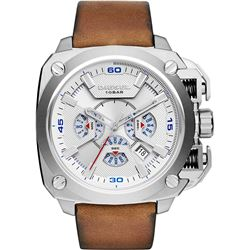 NEW DIESEL 57MM CHRONO OVERSIZE MSRP $395 WATCH